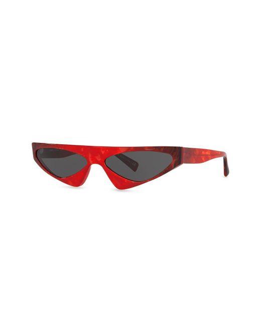 Alain Mikli Women's Red X Alexandre Vauthier Josseline Sunglasses