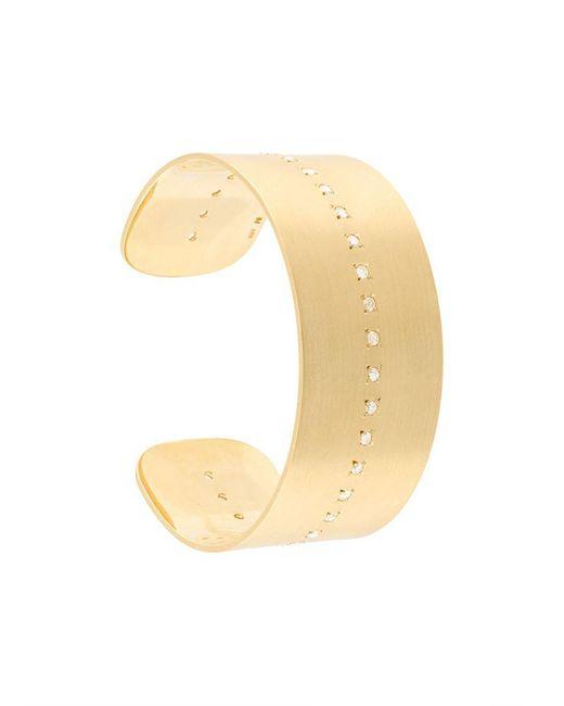 Irene Neuwirth | Metallic 18kt Gold Diamond Cuff | Lyst