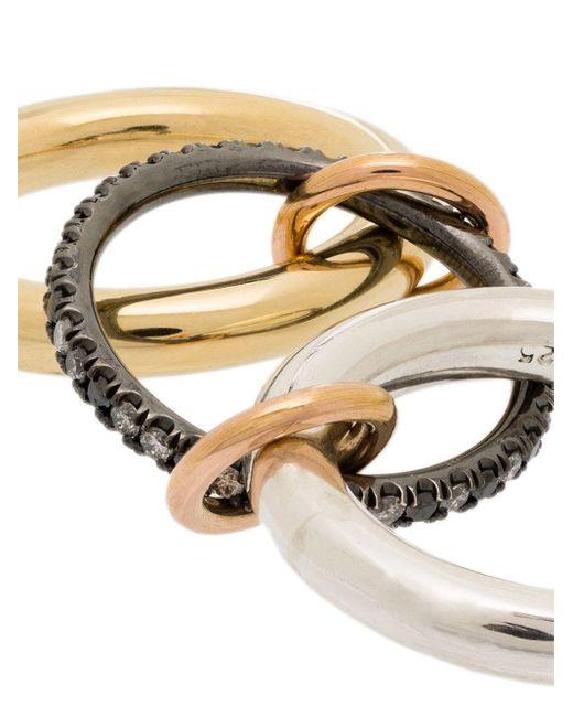 Spinelli Kilcollin Libra ダイヤモンド リング 18kイエローゴールド Metallic