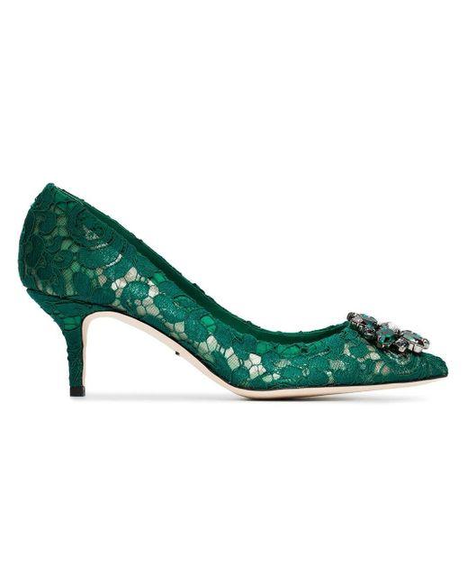 Dolce & Gabbana Bellucci パンプス Green