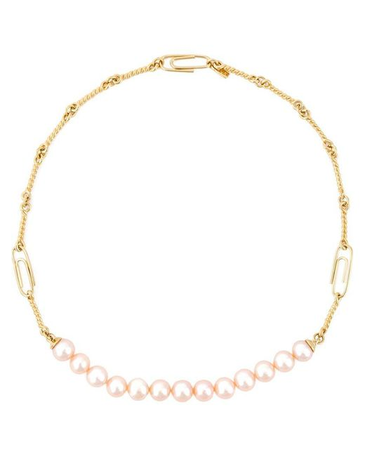 Aurelie Bidermann | Metallic 'cheyne Walk' Necklace | Lyst