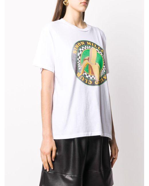 Simon Miller Nana Tシャツ White