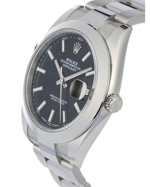 Наручные Часы Oyster Perpetual Datejust 41 Мм Rolex для него, цвет: Black