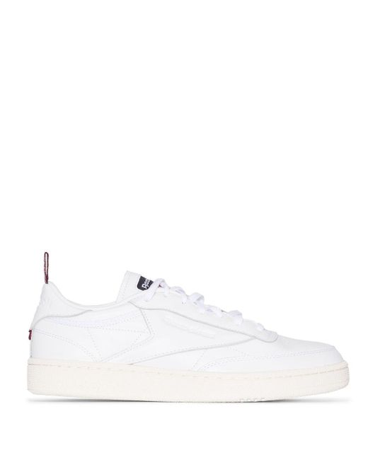Reebok White Club C 85 Low-top Sneakers for men