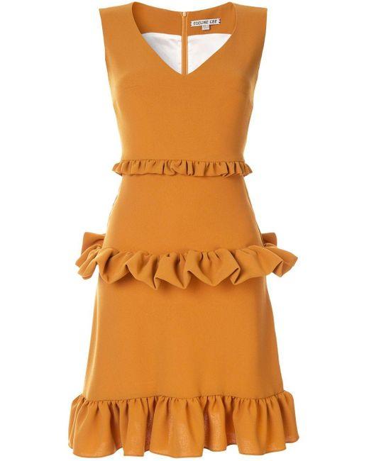 Edeline Lee Gesture ドレス Orange