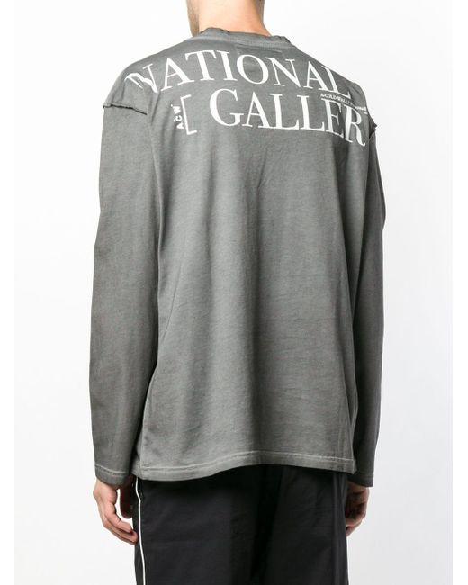 メンズ A_COLD_WALL* National Gallery スウェットシャツ Gray