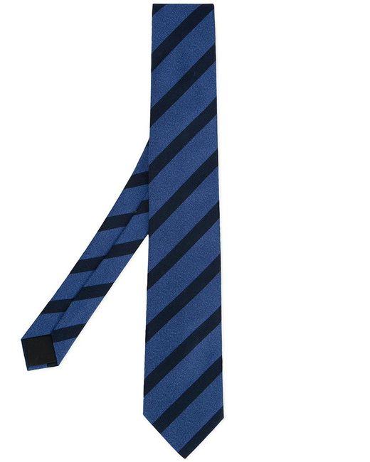 Cerruti 1881 - Blue Striped Tie for Men - Lyst