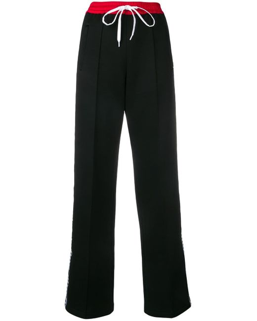 Miu Miu ドローストリング パンツ Black