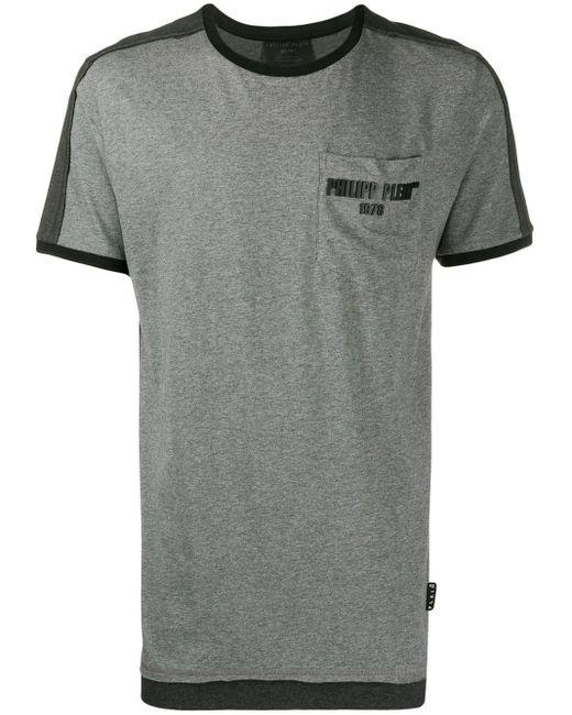 メンズ Philipp Plein Statement Tシャツ Gray