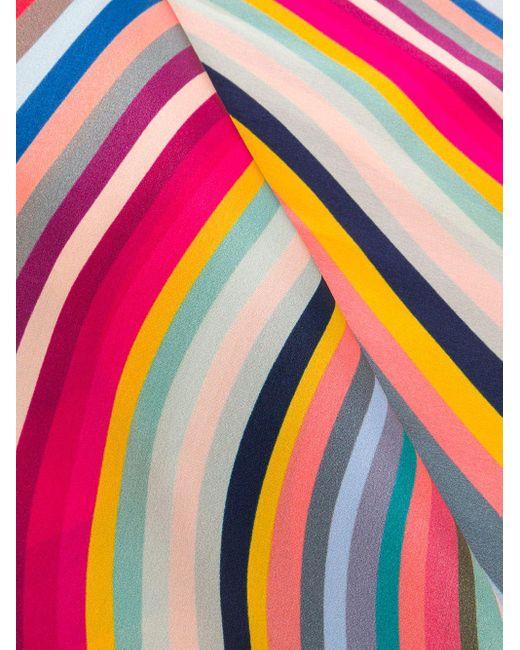 Paul Smith ストライプ ストール Multicolor