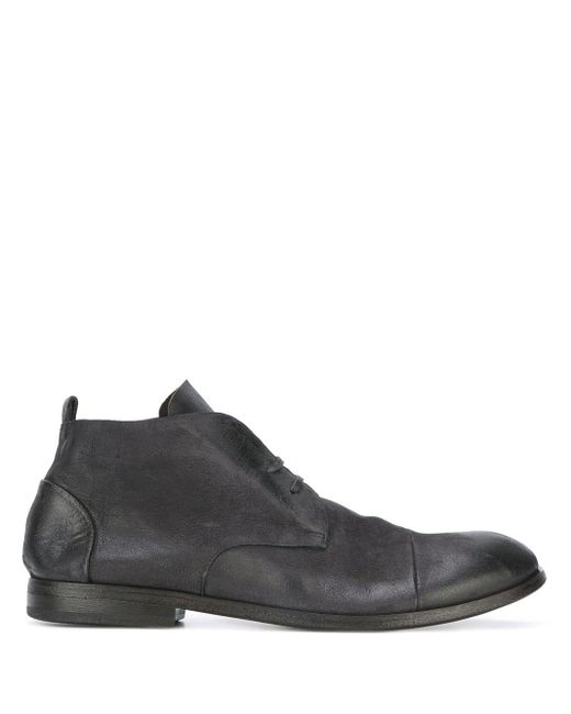 Marsèll Black Classic Ankle Boots for men