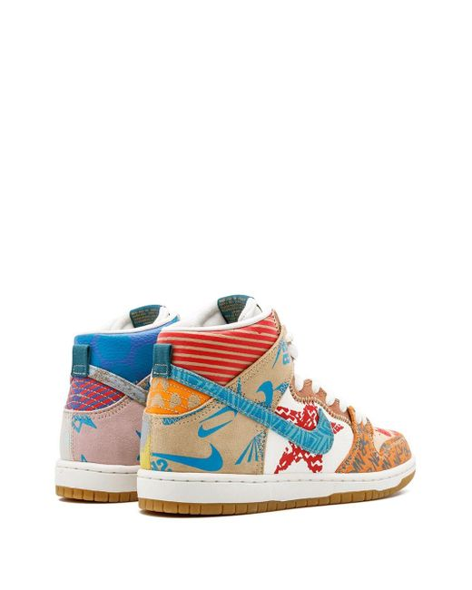 メンズ Nike Sb Zoom Dunk High Prem スニーカー Multicolor