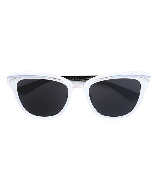 Dior | White 'so Dior' Sunglasses | Lyst