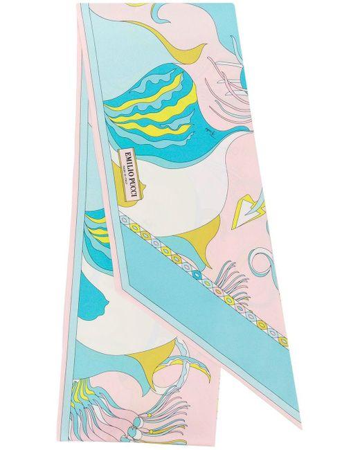 Emilio Pucci フローラル スカーフ Multicolor