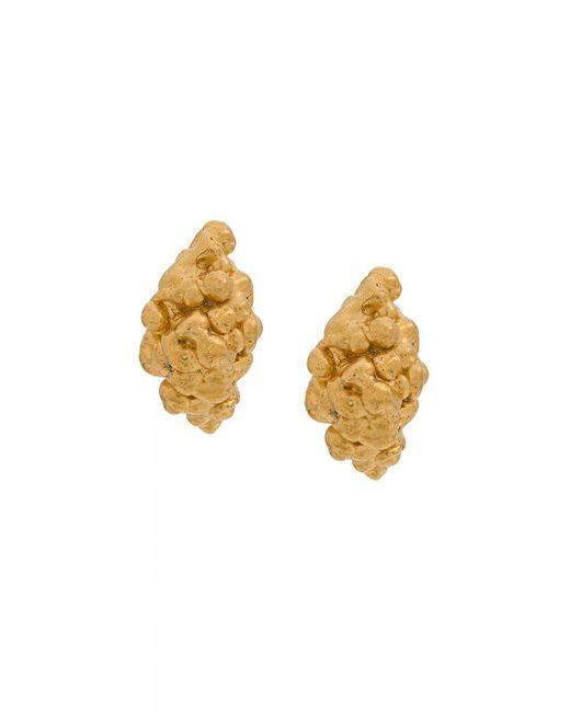 Nugget Stud Earrings Imogen Belfield, цвет: Metallic