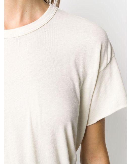 The Great クルーネック Tシャツ White