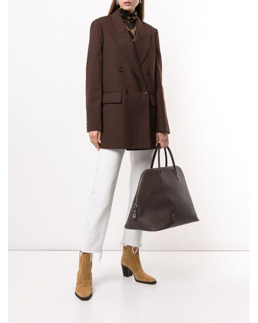 Hermès 2019 プレオウンド ボリード 45 ハンドバッグ Brown