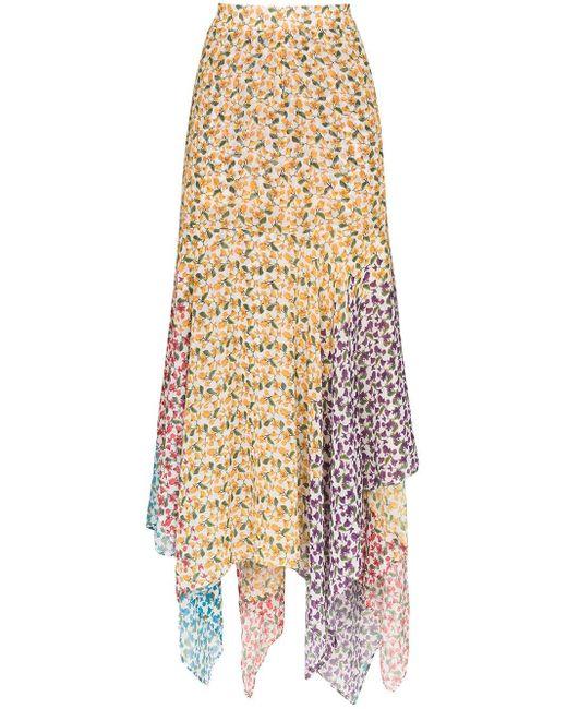 All Things Mochi Elisa フローラル スカート Multicolor