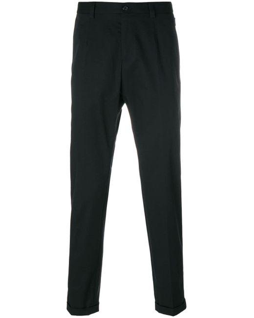 メンズ Dolce & Gabbana クラシック チノパンツ Black