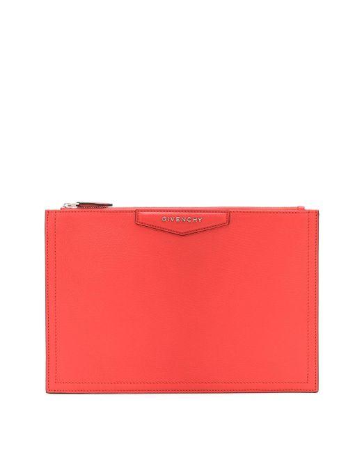 Givenchy アンティゴナ クラッチバッグ Red