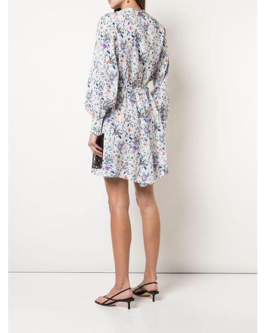 Fleur du Mal Daphne レースパネル ドレス White