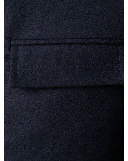 メンズ Thom Browne 4bar チェスターコート Blue