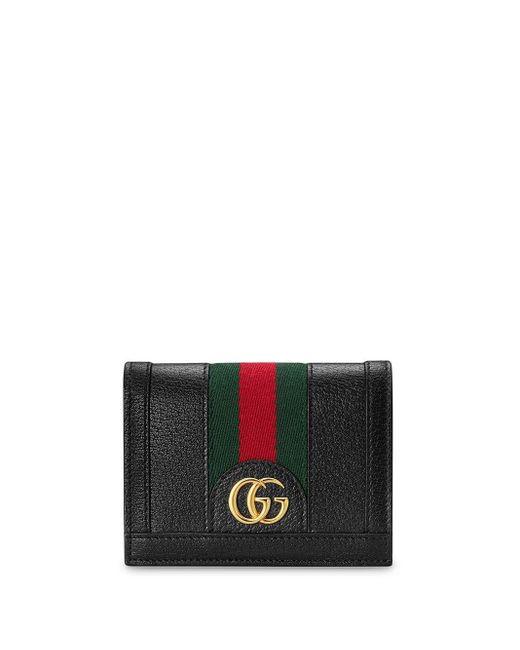 Картхолдер Ophidia С Логотипом GG Gucci, цвет: Black