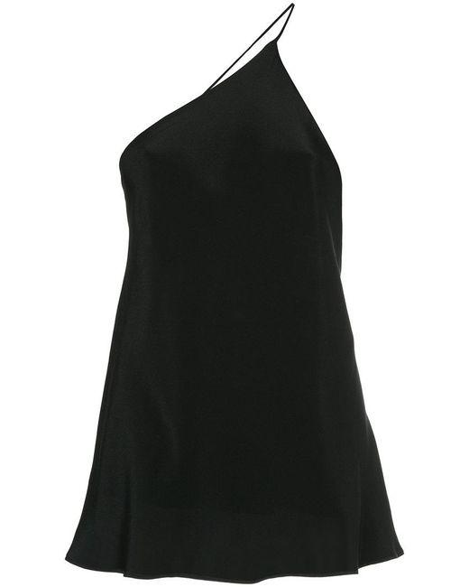 Kacey Devlin - Black One Shoulder Cami - Lyst