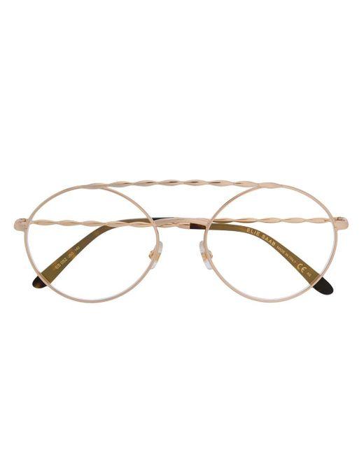 Elie Saab ラウンド 眼鏡フレーム Multicolor