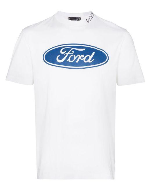 メンズ Versace X Ford プリント シャツ White