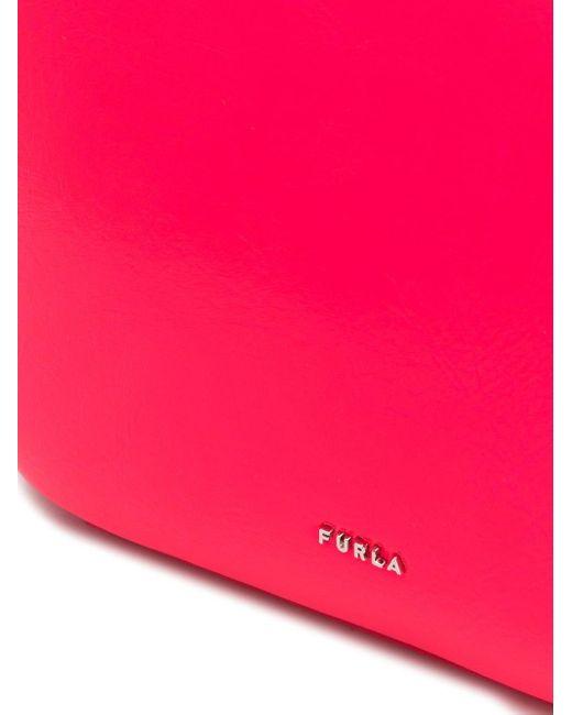 Furla Block ショルダーバッグ ミニ Pink