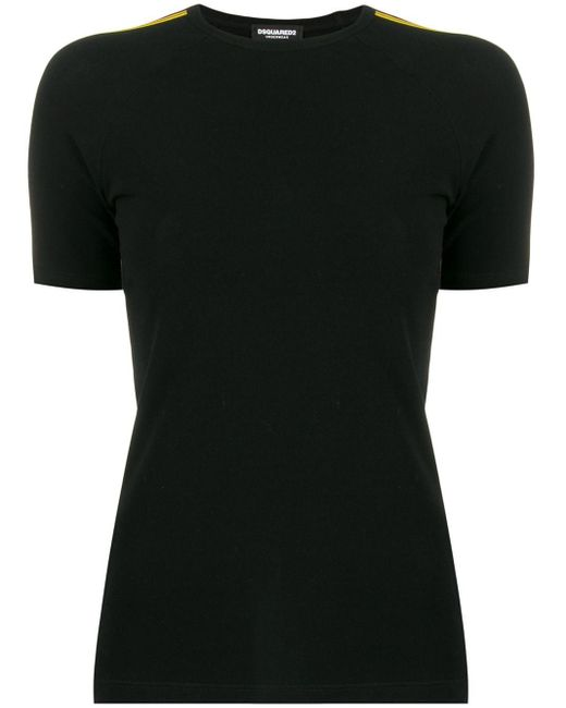 T-shirt con stampa di DSquared² in Black
