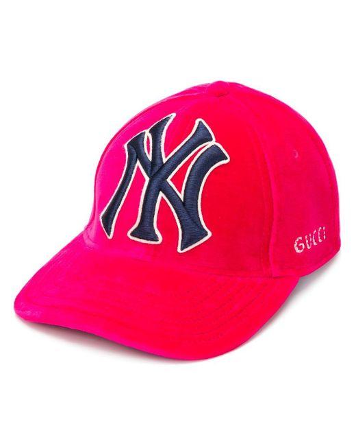 Gucci Pink Logo Hat