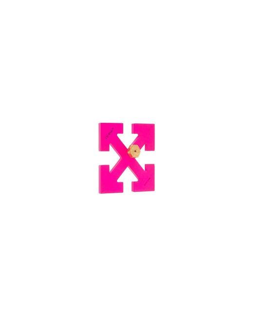 Off-White c/o Virgil Abloh Arrow ピアス Pink