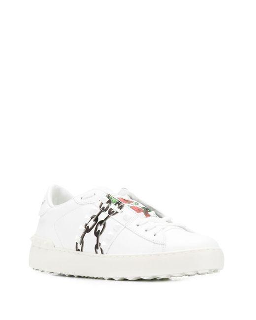 Valentino White X Undercover Sneakers
