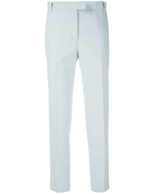 Ermanno Scervino Blue Slim Fit Trousers