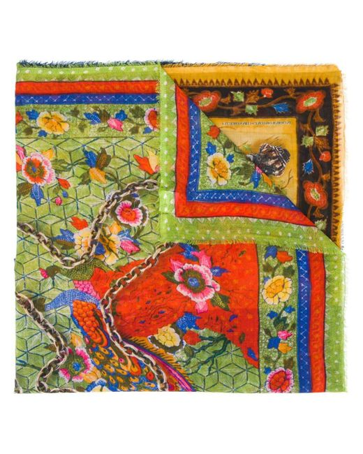 Faliero Sarti マルチプリント スカーフ Multicolor
