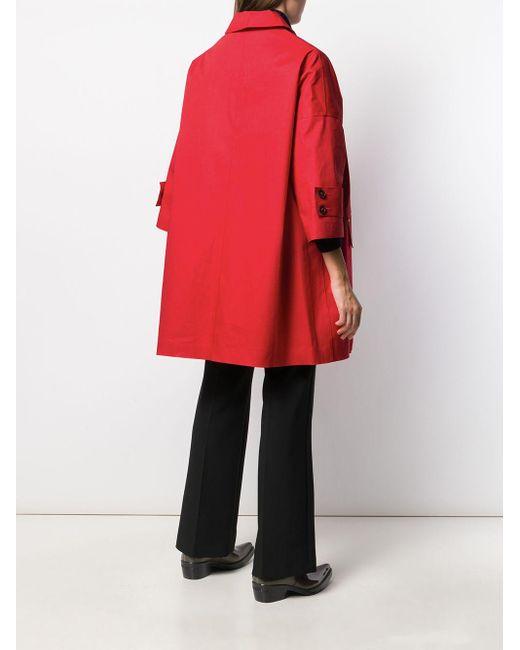 Manteau Humbie Mackintosh en coloris Red