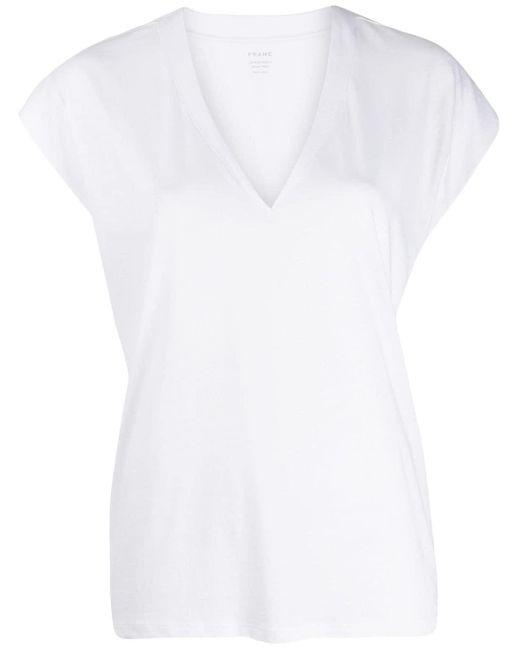 FRAME ミッドライズ Tシャツ White