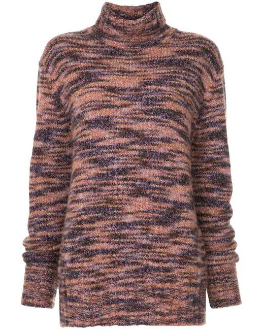 Sies Marjan メランジ ロールネック セーター Multicolor