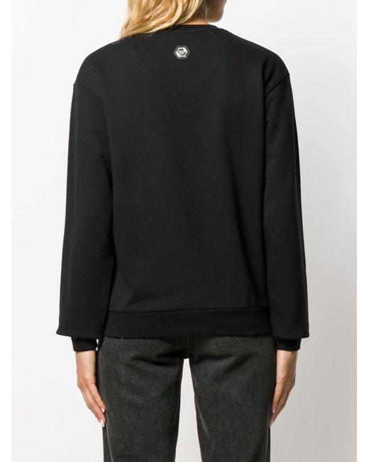 Philipp Plein デコラティブ スウェットシャツ Black
