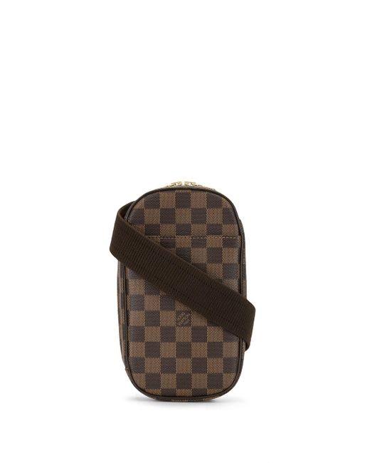 Louis Vuitton 2005 プレオウンド ダミエ ガンジュ ボディバッグ Brown