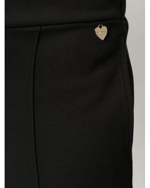 Брюки Кроя Слим Twin Set, цвет: Black