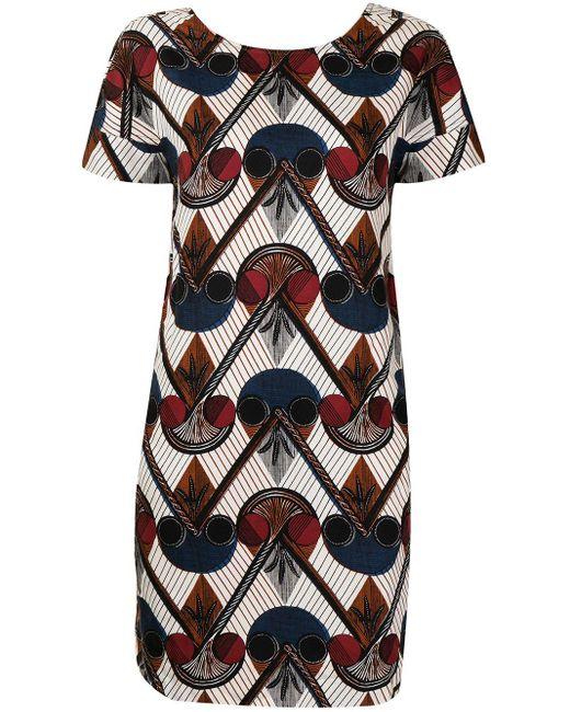 Hermès プレオウンド シフトドレス Multicolor