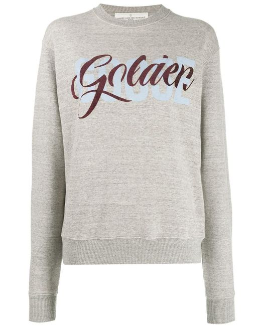 Golden Goose Deluxe Brand ロゴ スウェットシャツ Gray
