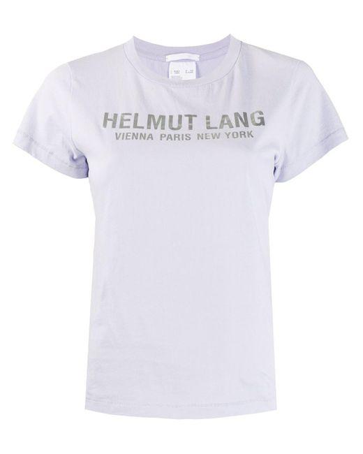 Helmut Lang ロゴ Tシャツ White
