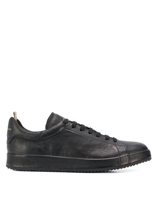 Officine Creative Black Low-top Sneakers for men