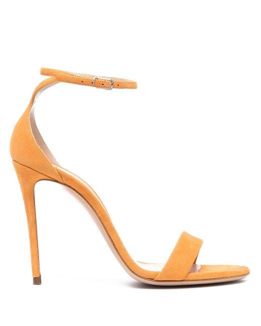 Casadei Orange Blade V Celebrity Sandalen 110mm
