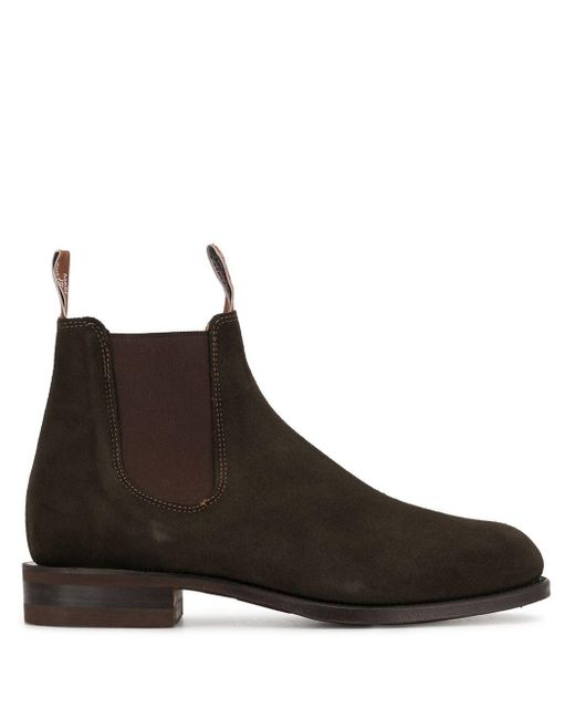 R.M.Williams Brown Comfort Turnout Chelsea Boots for men