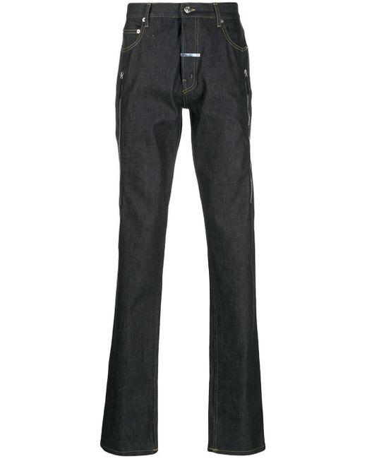 メンズ Zilver ストレートジーンズ Blue